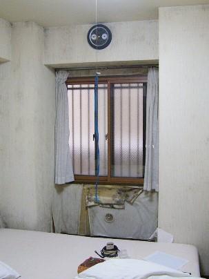 カビの生えた北側の部屋