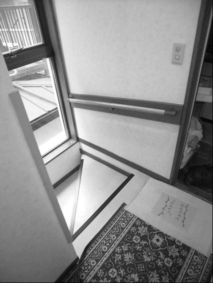 階段昇降機取り付け前
