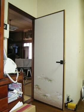 戸襖ドアの交換リフォーム後