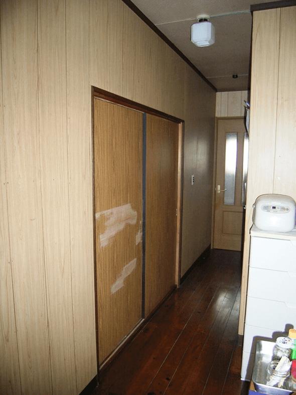 和室の建具リフォーム前