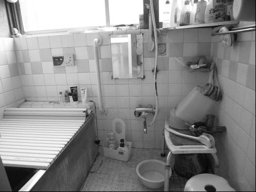 在来浴室リフォーム前
