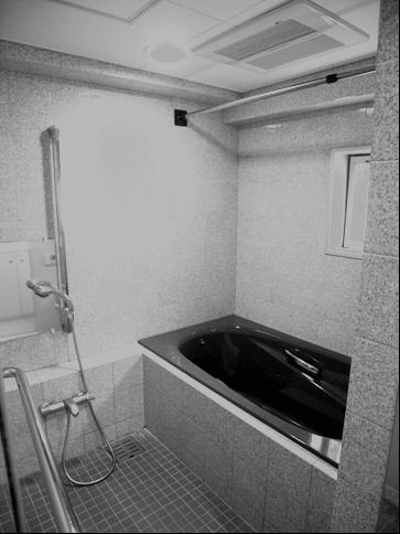 リフォーム前の在来浴室