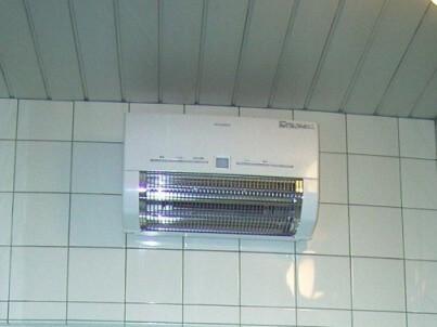 暖房換気扇取付後