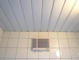 暖房換気扇取付前