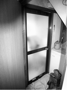 リフォーム前の開き扉