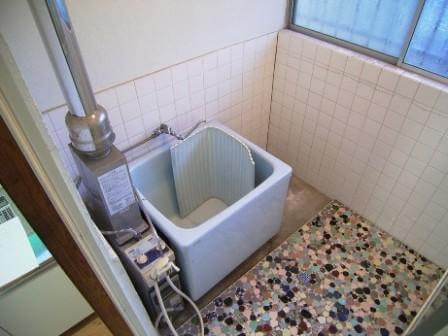 内釜を給湯器に交換前